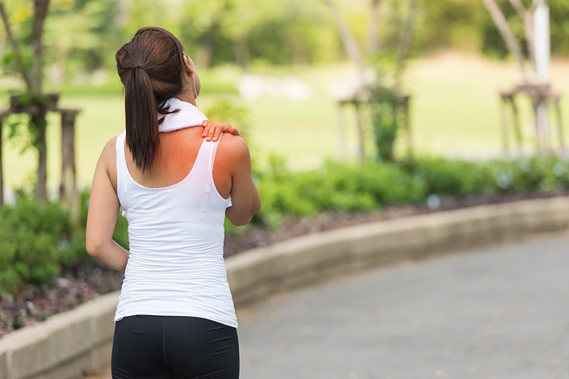 PAIN IN YOUR SHOULDER BLADES WHEN RUNNING? - Corporate Cup
