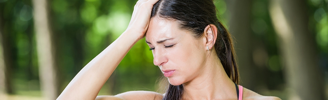 WHY DO I GET A HEADACHE AFTER I RUN?