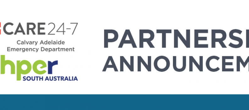 Care 24-7 and ACHPER Partnership Announcement